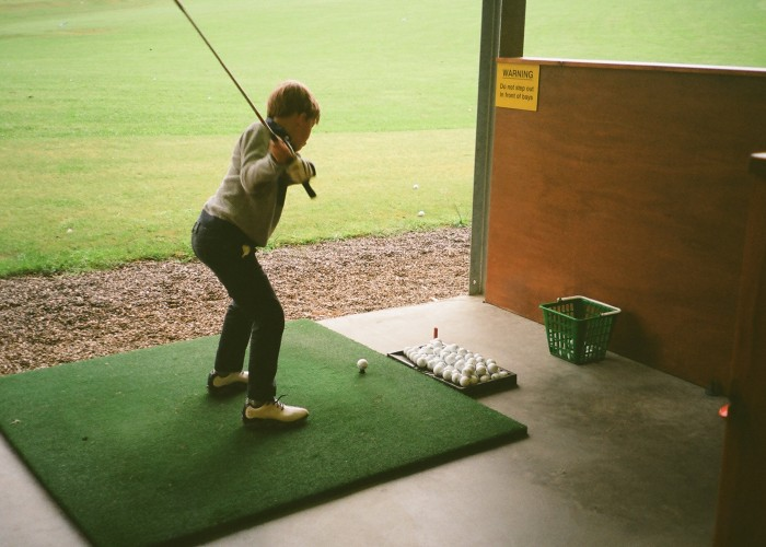 3 Learning Golf in Pitlochry