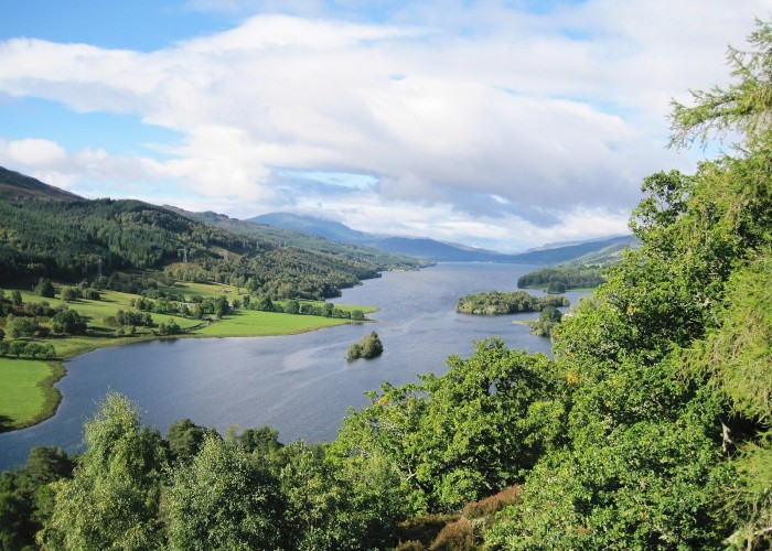 Pitlochry view of the Tay